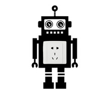 Wholesale Funny Nature - 2017 Hot Sale Personality Robot Love Banksy Light Switch Wall Vinyl Decals Sticker Funny Home Art Vinyl Decor Creative