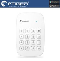 Wholesale Armed Personal Security - LS111- Free shipping etiger ES-K1A 433mhz frequency Wireless Keypad arm,disarm or activate the home mode for home security alarm system