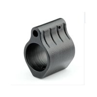 block profile - Hunting Tactical AR15 Steel Gas Block Micro Low Profile Steel With Roll Pin Gas Ports Controller AR Rifle Accessories