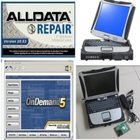 Wholesale alldata mitchell new alldata and mitchell on demand auto repair software installed in cf19 toughbook touch hdd tb