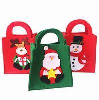 27x8x20cm felt cloth christmas bags gift bag christmas gift bags in bulk