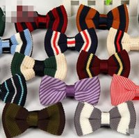 ingrosso bowtie pre-legato-Cravatta a farfalla Bowtie a collo da uomo 75 cravatta a farfalla regolabile pre-tied colore 75, spedizione gratuita