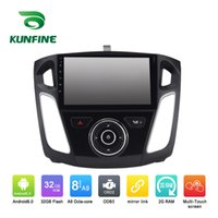 Android 6.0 Octa Core 2GB RAM Car DVD GPS Navigazione Multimedia Player Stereo per Ford Focus 2012 Radio Headunit