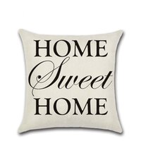 Wholesale home textiles - BZ145 Luxury English Letter Cushion Cover Pillow Case Home Textiles supplies decorative throw pillows chair seat