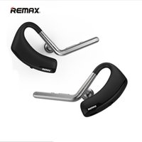 Wholesale Driver Control - New Original Voyager Legend Remax RB-T5 Bluetooth Headset V4.0 Earhook Voice Control Wireless In Ear Earphone Stereo Car Driver Handsfree