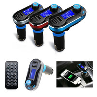 T66 Car MP3 Player Infrarouge Télécommande Support AUX Cigarette Briquet Type Carte Machine Double USB Chargeur voiture Car Stereo Music