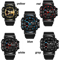 Wholesale G Shock Watch Wholesale - Popular Mens Summer G Sports GA110 Watches LED Waterproof Climbing Digital S Shock Men 100 Watch All Pointer Work 3009002