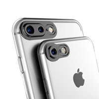 Wholesale New Fit Camera - New transparent 3D protection camera phone shell for iPhone7 plus iPhone7 phone sets i6s i6 plus tpu soft shell manufacturers