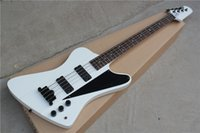 Wholesale Electric Guitar Matte Black - 8 style Thunder bass 4 strings matte black,white,purple,wine red,left handed electric guitar bass