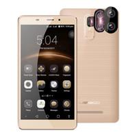 "Wholesale Mini Cell Phone Wifi Tv - Original Leagoo M8 Pro 5.7"" Android 6.0 MT6737 Quad Core Smartphone 2GB+16GB 4G Cell Phone Dual Back Cameras 13.0MP Mobile Phone"