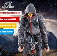Wholesale Bicycle Cycling Raincoat Rain - Outdoor bike raincoat Cycling Jersey Waterproof Windproof Outerwear hiking MTB Bike Bicycle Rain Jackets Jersey Cycling Cloth