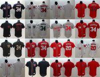 Wholesale Navy White Stripe - Washington Nationals #34 Bryce Harper 20 Daniel Murphy White Navy Blue Gray Red Fashion Stars Stripes Majestic MLB Baseball Jerseys