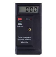 medidores de radiación electromagnética al por mayor-Medición de radiación de alta calidad LCD Digital Detector de radiación electromagnética Medidor EMF Medidor de dosímetro Probador