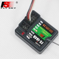 Wholesale Transmitter For Boat - F16812 FlySky FS-IA4B 2.4G 4CH Receiver Support Data Backhaul PPM Output iBus Port for FS i4 i6 i10 iT4S Transmitter RC Car Boat