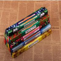 hint çubukları toptan satış-23 cm Rastgele Renk Hint El Yapımı Darshan Tütsü Duman Sopa Tütsü Tütsü Çubukları Birden Koku 8 adet = 1 Küçük Kutu