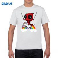 Wholesale Riding Outerwear - 207 New Arrival Men O-Neck Hoodies Funny Cute Deadpool Minion Riding A Unicorn Rainbow Printing Sweatshirt Cosplay Man Outerwear