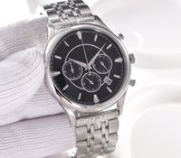 Wholesale Colour Strap Watches - 6Styles Noble and elegant mens quartz watches from the world oldest watch brand with different coloured dial and strap