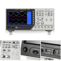 Wholesale Usb Function Generator - Hantek DSO4102S 2CH Digital USB Oscilloscope 1CH Arbitrary Function Waveform Generator Synchronizing Signal Source100MHz With Free Shipping