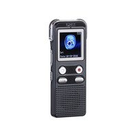 Wholesale key digital voice recorder - Professional Stereo Digital Voice Recorder GB MP3 Player with speaker one key recording real dual track voice recorder