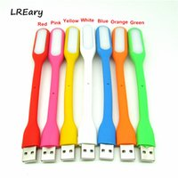 Wholesale Computer Novelty Gifts - Flexible Mini USB Lamp USB Light Book Reading Light Computer Peripherals Gadgets Novelty gift for Power bank Computer