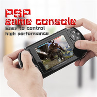 Wholesale Mini Tv Mp4 - PAP Gameta II 2 Handheld Game Consoles Portable 64 Bit Mini Video Games Players HD TFT 4GB Support TV Out MP3 MP4 MP5 Camera Record FC