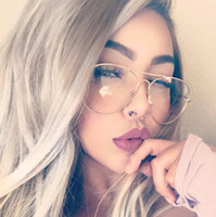 Wholesale Plain Fashion Glasses For Women - ZMCOME 2017 Newest Fashion Style Frame Plain Eyeglass Frame Optics Clear Reading Glasses Trendy Goggles For Men Women Feminino