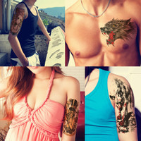 Decalcomanie Uccelli Fiori Donne Fake Uomo Fai da te Henna Body Art Tattoo Design HB556 Filiale Albero Farfalla Vivida Tema Tattoo Sticker