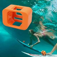 Wholesale Floaty Backdoor - For Gopro Session Case Surfing Float Backdoor Floaty Mount For Gopro Housing Cover For Gopro Session 4 Floaty Backdoor Case