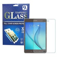 """Wholesale Galaxy Tablet Screen Protector - For Samsung Tablet Screen Protector Flim Samsung Galaxy Tab A T350 T550 9.7"""" Tab4 7"""" 10""""Tab E T560 Tempered Glass Packaging"""