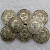 Wholesale British Money - Israel Palestine British Mandate 100 Mils Full set(1927-1942) 8pcs Silver Coin Promotion Cheap Factory Price nice home Accessories Coin