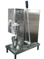 Wholesale Ice Blender Machine - Auto fruit ice cream swirl freeze yogurt fruit ice cream blender mixer machine with cone cup soft serve 110v 220v free shipping