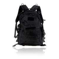 Wholesale Traveling Hiking Backpack - Outdoor Molle Military Tactical Backpack Rucksack Camping Traveling Hiking Trekking Bag 40L Black H9743B