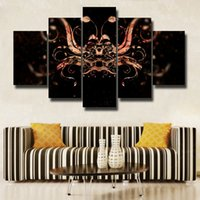 5 Pcs / Set Modern Abstract Wall Art Painting Canvas Painting para Sala de estar HomeDecor Picture Beautiful picture # 109