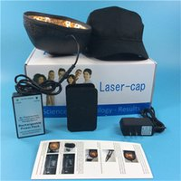 Wholesale Laser Hair Regrowth - Laser hair regrowth cap Hair Growth Regrowth Treatment Diode Laser Light Therapy Hair Health Care Devices Newest