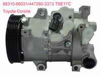 compresor auto. auto compresor de aire para toyota corolla 2011-2013 denso tse14c 447280-9060 88310