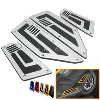 Wholesale Rear Steps - One set Front and Rear Footrest Step Motorcycle Foot Pegs For Yamaha TMAX T-max 530