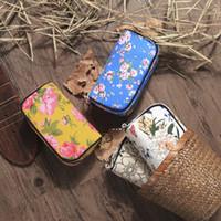 coronas de strass chino al por mayor-Moda Ms Popular y Hot Candy Color Golden Crown Wallet Multi-Hand Hand Carry Hand Bag Estilo chino canvas lady handbag envío gratis
