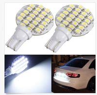 Wholesale rv bulbs - 30PCS Wedge T10 24 SMD LED 194 921 W5W 1210 147 168 192 RV Light Lamp Bulbs White wholesale price