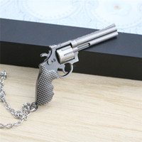 9 Designs Hot Sale CF Men Alloy Simulated Gun Colar Cross Fire Colares Pingentes Para Presente