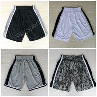 Wholesale Men S Shorts Pants - San Antonio 2 Kawhi Leonard Shorts Men Black White Team 12 LaMarcus Aldridge Basketball Pant Breathable Embroidery Sportswear Free Shipping