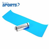 Wholesale Cheap Yoga Mats - Wholesale-Outdoor Workout Professional Eco-friendly Camping Rolled Mat Floor Mat Baby Yoga Mats Cheap Yoga Mat Pad Yoga Accessories