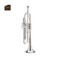 Wholesale Instrument Trumpet Silver - wholesale Vincent Bach Trumpet LT 180S-37 Trumpet Instruments S Silvering Brass Instruments Bb Trumpet with Mouthpiece Gloves FreeShipping