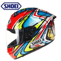 Wholesale Double Lens Helmet - Shoei motorcycle helmet flip up full face helmet double lens racing helmet motocicleta capacete ECE approved,Capacete