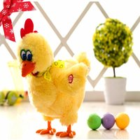 Wholesale Crazy Baby Toys - Electric Hen Musical Dancing Laying Egg Funny Educational Baby Kid Toy Chickens Crazy Singing Dancing Electric Pet Plush Toy