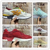 Wholesale Top Selling Cushion - 2017 Hot SELL Fashion Gel-Lyte V 5 Cushioning Running Shoes Men Original Top Quality Boots Athletic Sport Sneakers 36-45