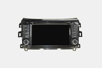 Wholesale Navara Gps - NISSAN NAVARA 8 inch with dvd Android 5.1 car dvd double din car dvd player with steering wheel control bluetooth gps radio