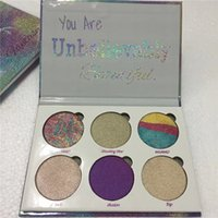 Wholesale Top Beauty Wholesaler - Top Quality Love luxe You Are Unbelievably Beauty Fantasy palette Makeup highlighter Eyeshadow Palette Glow