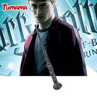 Wholesale Harry Potter Sticks - High Quality Best Price Harry Potter Magic Wand Kids Cosplay Stage Magic Tricks Sticks Children Toys Harry Potter Magical Wand