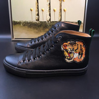 Wholesale Italy Models - Italy style Men shoes fashion man Cowboy boot Genuine Leather Half Boots flat heel Round Toes Animal Prints model 168950011