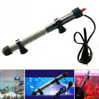 Wholesale Heater Water - 25 50 100 200 300W Aquarium Mini Submersible Fish Tank Adjustable Water Heater